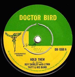 "ROY SHIRLEY-hold them    doctor bird 7""    (hear)  reggae rock steady"
