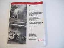 Allen-Bradley 194456 Variable Speed Drive User'S Manual 0160-5.17Ml - Free Ship