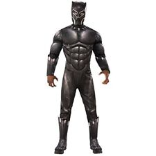 Rubie's Men's Deluxe Black Panther Muscle Chest Costume : Extra Large