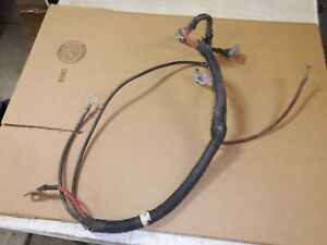 JEEP WRANGLER TJ LJ BATTERY CABLE CABLES WIRING 2005 2006 4.0 RUBICON SAHARA