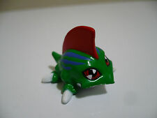 "Digimon Mini Figure Betamon Green Lizard Creature Toy Bandai 1"""