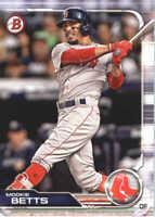 2019 Bowman Baseball #50 Mookie Betts Boston Red Sox