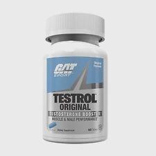 GAT TESTROL Original Testosterone Booster 60 Tablets (30 servings)
