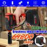69800mAh 600N.m Cordless Electric Brushless Impact Wrench Rattle Gun Battery