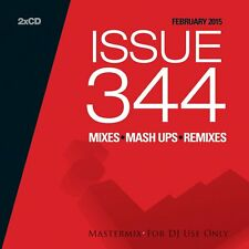 MASTERMIX ISSUE 344 Twin DJ CD Set Mix REMIXES FT 90 S PUR & Uptown Funked!