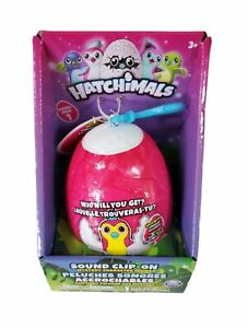 Hatchimals Sound Clip-On | Series 1 | Mystery Character Inside NEW Fast Ship