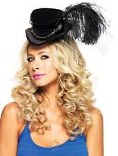 Adult Women Steampunk Velvet Top Hat