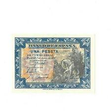 Billete España 1 Peseta 1 junio 1940 - Hernán Cortés - PLANCHA