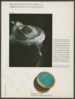 IRANIAN CAVIAR . Pearls of the Caspian Sea - 1988 Vintage Print Ad