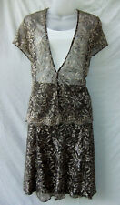 Katies 2 Piece Top & Skirt Size 16 XL Cocktail Party Occasion Evening FREE POST