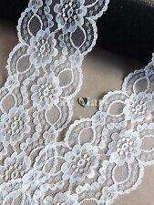 Vintage Blanco Encaje Cinta Boda Adorno Bridal Shabby Rústico