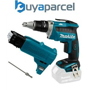 Makita DFS452Z 18v Collated Autofeed Brushless Screwdriver Lithium + Attachment
