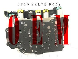 Rebuilt 6f35 Valve Body W/Solenoids (FEO Branded) 2009UP LINCOLN MKZ MKS MKX