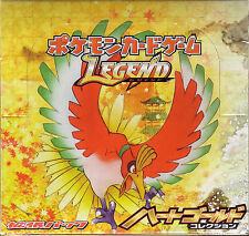 Pokemon Card Legend Booster L1 Heart Gold Sealed Box 1st Edition Japanese