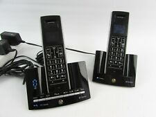 BT Stratus 1500 DECT Twin Telephone & Answering Machine - Black *New Batteries*