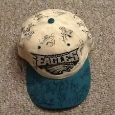 PHILADELPHIA EAGLES AUTO HAT CAP DAWKINS RARE Signed rookie number 24 NFL Wentz
