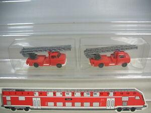 K955-0, 5 #2x wiking H0 Opel Blitz Fire Department Wagon Fw , 602,Very Good