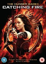 The Hunger Games: Catching Fire [DVD] [2013] New Sealed UK Region 2