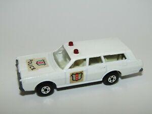 Matchbox Superfast No 55 Mercury Police Car Early Issue Near Mint UB