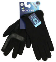 ISOTONER Women's SmartDri Stretch Cold Weather Gloves One Size Black Smartouch