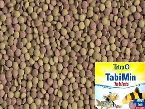 Fish Food Tetra TabiMin Tablets, Sinking tablets, bottom feeding, Catfish food