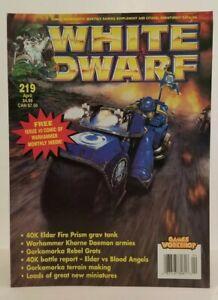 White Dwarf Games Workshop #219 No Comic