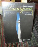 LUXURY LINER: FIRST ASCENT OF SUPERCRACK DVD BY CHRIS ALSTRIN, INDIAN CREEK, NEW