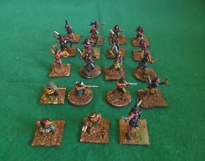 Wargames Foundry 28mm North American Plains Indians × 19 Metal Painted.