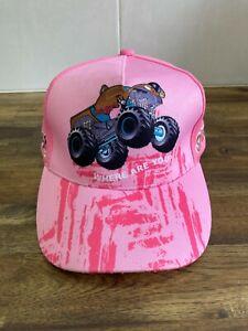 Scooby-Doo! Monster Truck Australia Official Merchandise - Pink Baseball Cap