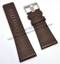 Comp. Diesel DZ1464 DZ1542 - 32mm Brown Genuine Leather Watch Strap Band