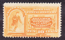 US Scott E3 old 10c Special Delivery stamp M/NG CV $300