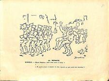La madelon Musique Soldats OCCITAN CARICATURE HUMOUR POILUS Pierre Dantoine WWI