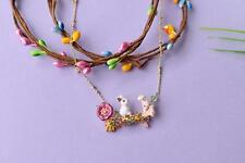 EXCEPTIONALLY PRETTY RABBIT NECKLACE by LES NEREIDES - FREE UK P&P.......CG0526