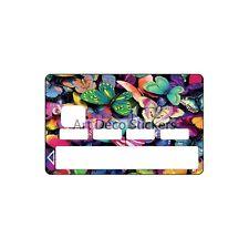Stickers Autocollant Carte bancaire - Skin - CB Papillons 1136 1136
