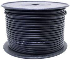 Cable de Altavoz Negro PA Audio Sonido Dj Discoteca 2 X 1.5 mm Core - 100 m rollo carrete de tambor