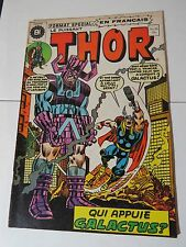 THOR 226 Buscema B & W French comic Heritage 36 Québec 1975 Rare!