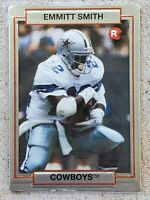 EMMITT SMITH 1990 Action Packed Rookie Update RC Card #34 Dallas Cowboys NFL HOF