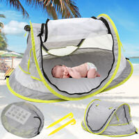 Pops Up Baby Beach Tent Kiddies Portable Sun Shade Shelter Anti-UV Outdoor AU