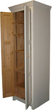 Free Standing Larder or Provisions Cupboard - Solid Wood Made to Order in the UK