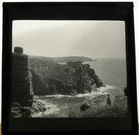Lantern Glass Slide Cliffs Lands End Mullion Cove Cornwall Photo pre1920 ref.40