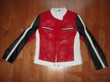 NEW D'enver Bike/Racing/Motorcycle Stylish Leather Jacket L Unisex