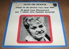 FEYENOORD - Ik Geef Voor Feyenoord Als 't Moet M'n Laatste .. JANS DE ROOCK 1969