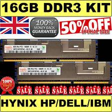 16GB (2x 8GB) 2Rx4 PC3-10600R Hynix HMT31GR7BFR4C  equi. SNPX3R5MC/8G | A3078601