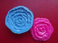 Grandi rose stampo in silicone, Sugarcraft, cupcake torta decorazione, resina, fimo