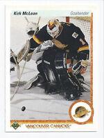 Kirk McLean Canucks 1990-1991 Upper Deck #278