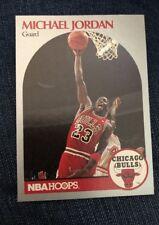 1990 NBA Hoops Michael Jordan Card!! Rare!! MINT Condition!! Card #65 Guard