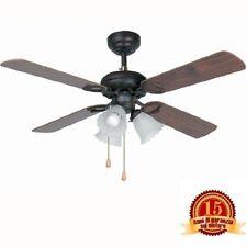 Faro 33102 - Lisboa Ventilateur de plafond marron