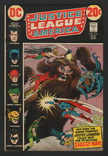 JUSTICE LEAGUE OF AMERICA #104, DC Comics, 1973, VG CONDITION COPY, SHAGGY MAN!