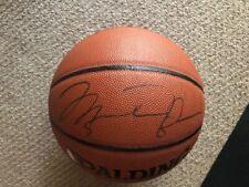 Michael Jordan Autographed Basketball - Cert of Auth/Upper Deck Verification