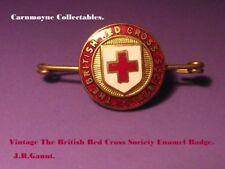 Vintage The British Red Cross Society Enamel Badge. AH9897.